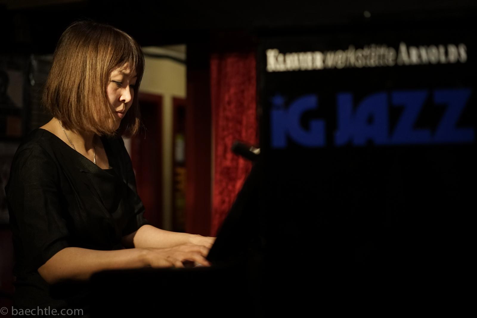 Die Jazzpianistin Gee Hye Lee