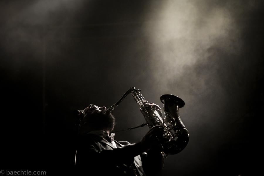 Konzertfotografie: Tucher Jazz- und Bluesfestival