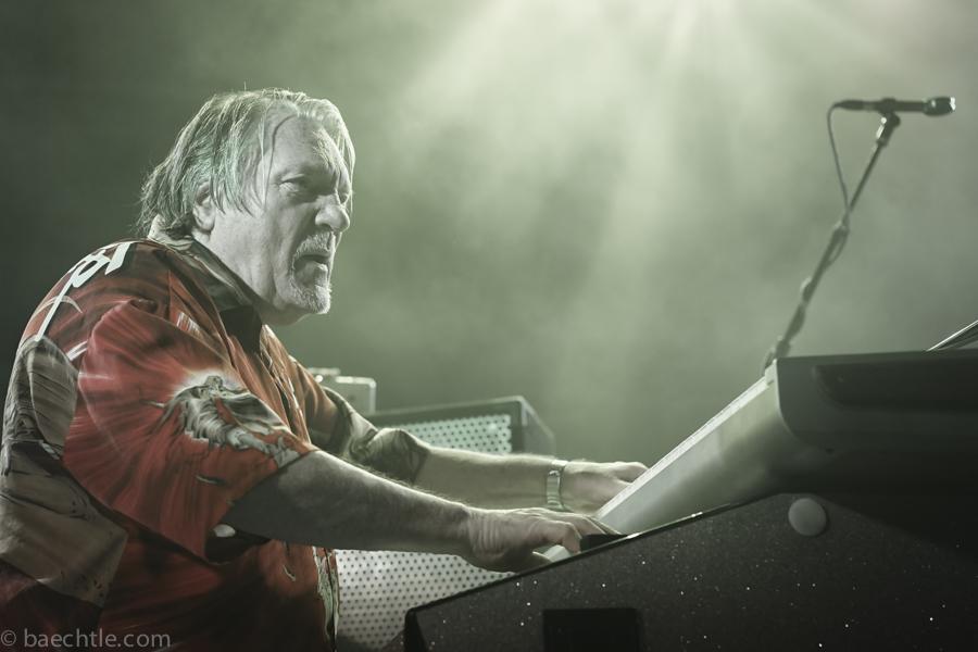 Meister an Hammond und Keyboards: Brian Auger