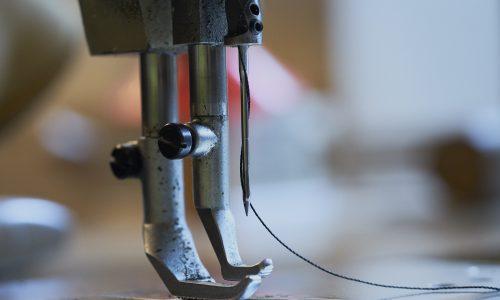Fotografie beim Kleidermacher