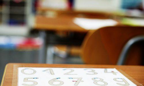 Klassenzimmer im Detail