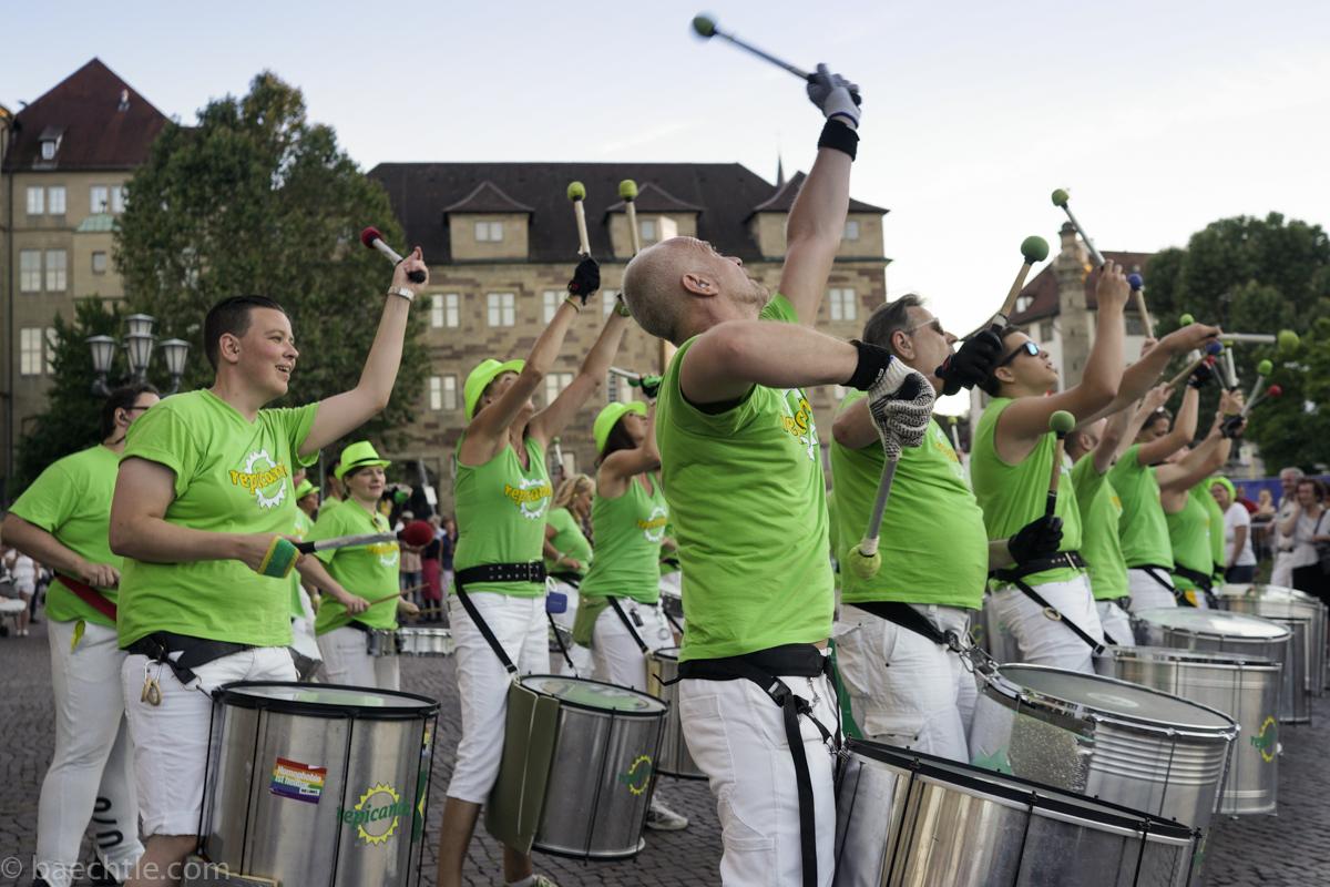 Konzertfotografie auf dem Stuttgarter Sommerfest