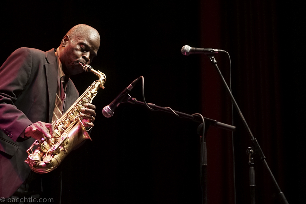Maceo parker im Scala in Ludwigsburg, Sony a7, ISO 1600, f=2,0, t=1/320s