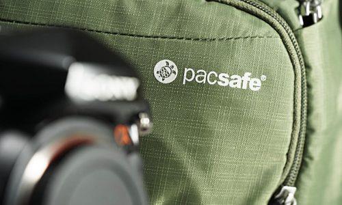 Gesicherter Kamerarucksack: Camsafe V9 von Pacsafe